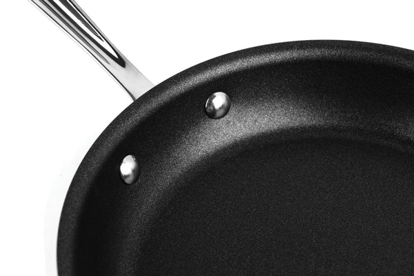 "All Clad d3 -  Stainless 9"" Nonstick Egg Perfect Pan"