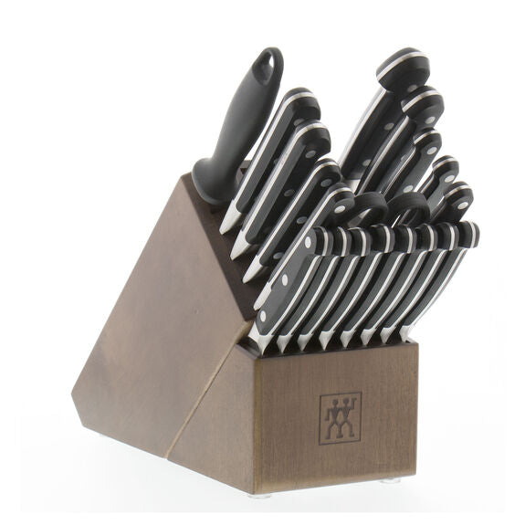 Zwilling Pro - 20-PC KNIFE BLOCK SET