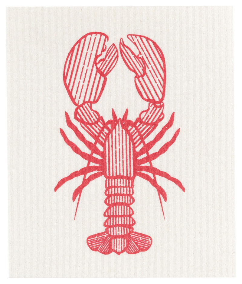 Now Designs Ecologie  - Lobster Catch Swedish Dishcloth