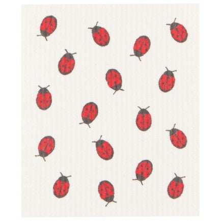 Now Designs Ecologie  - Fly Away Ladybug Swedish Dishcloth