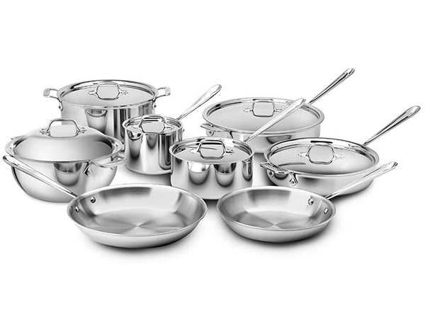All Clad d3 - 14 Piece Set