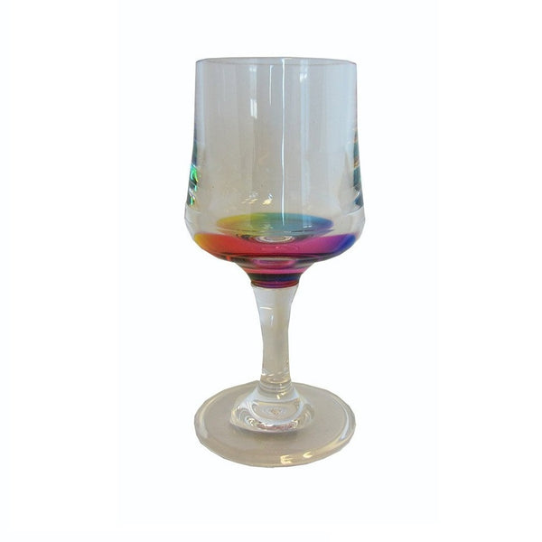 Merritt - Rainbow Reflections Wine Glass, 8 oz.