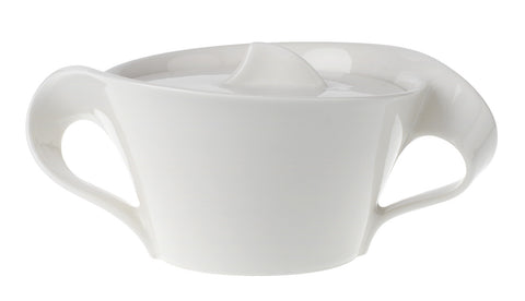 Villeroy & Boch New Wave 8 3/4 oz Covered Sugar