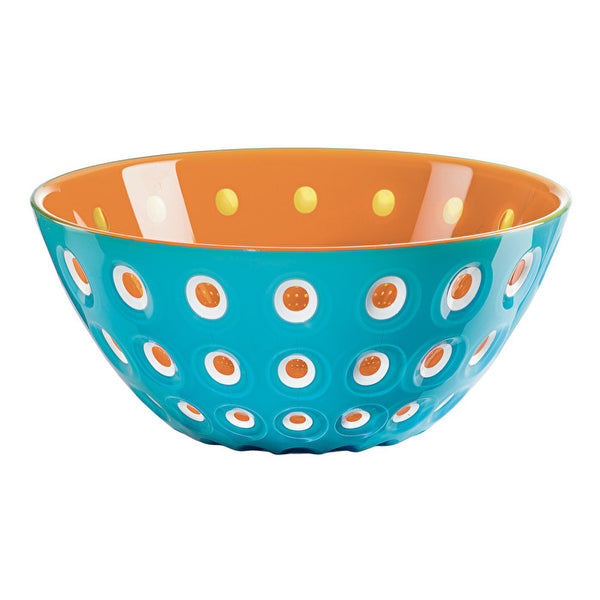 "Guzzini -  Blue/Orange BOWL ""LE MURRINE"""