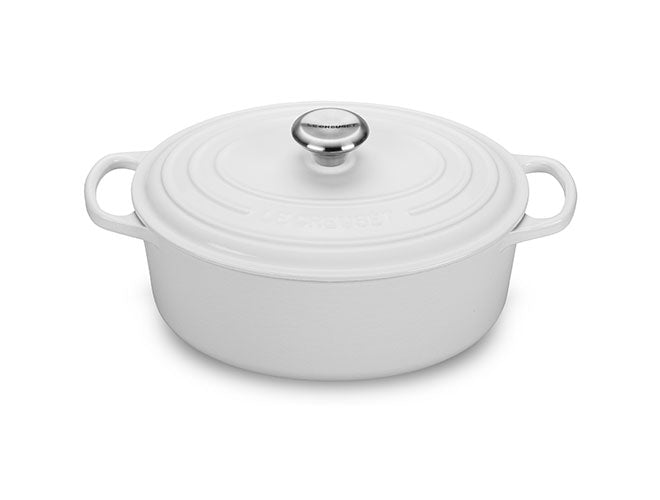Le Creuset - Signature Oval Dutch Oven - White