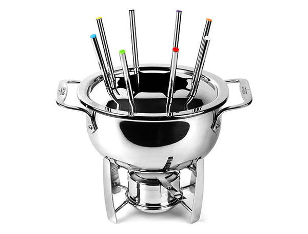 All Clad - Fondue Pot with Cast Aluminum Insert