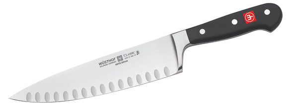 "Wusthof Classic - 8"" COOK'S KNIFE, HOLLOW EDGE"