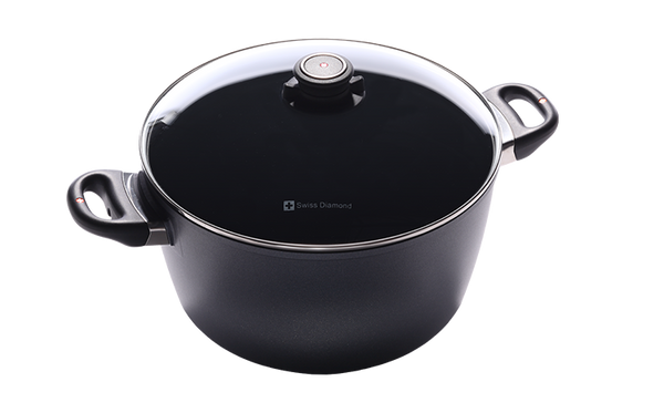 "Swiss Diamond - XD Nonstick Stock Pot - 8.5 QT (11"")"