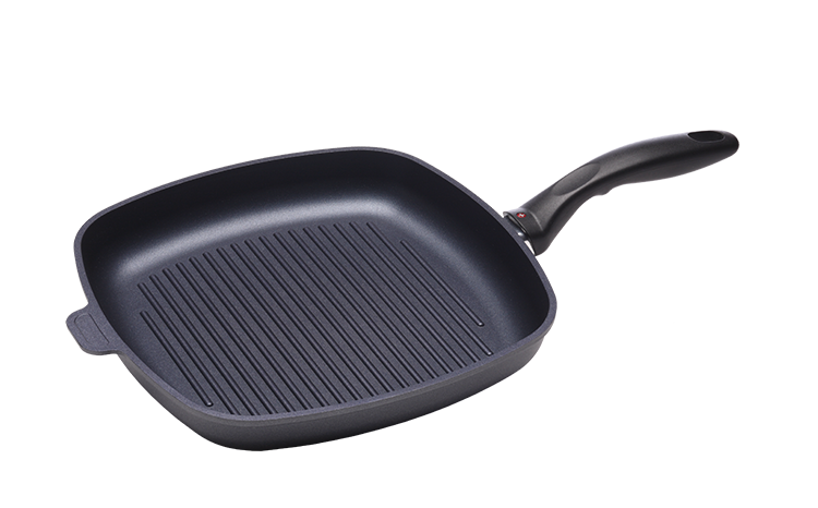 Swiss Diamond Nonstick Square Grill Pan - 11 X 11