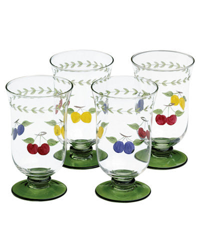 Villeroy & Boch Glassware, Set of 4 16 ozFrench Garden Cheer Ice Tea Glasses