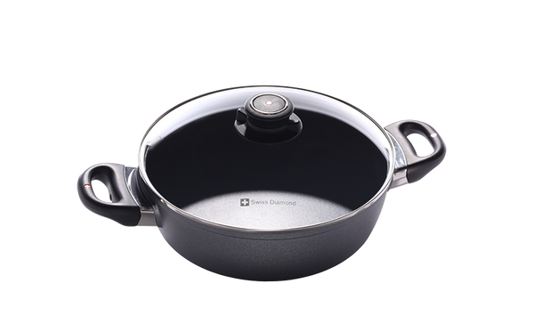 "Swiss Diamond -XD Nonstick Casserole - 3.2 QT (9.5"")"