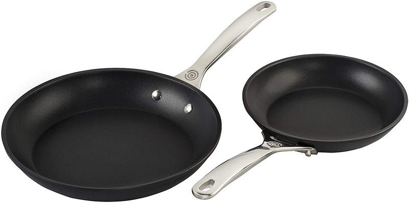 Le Creuset - TOUGHENED NONSTICK PRO SMALL FRY PANS, SET OF 2