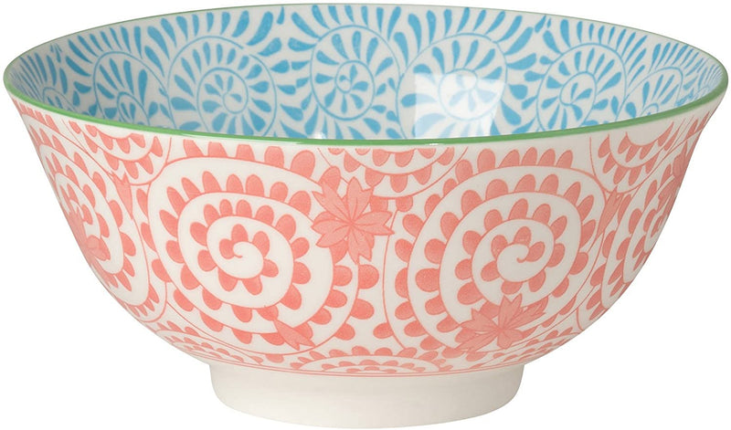 Now Designs - Akita Stamped Bowl, Orange