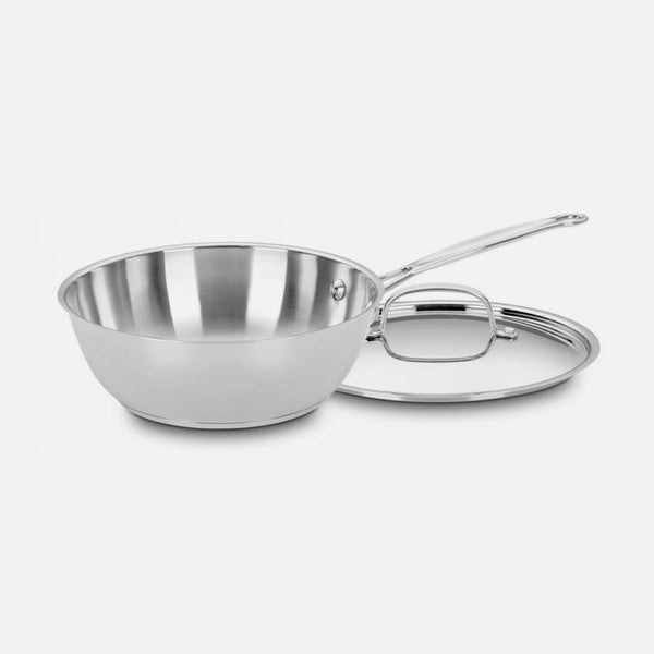 Cuisinart - 3 Qt. Chefs Pan With Lid