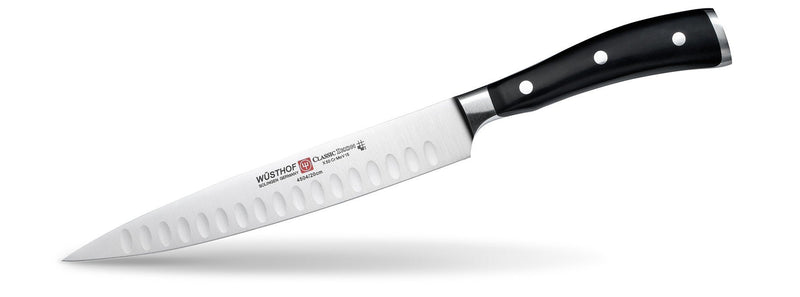 Wusthof Classic Ikon - Carving Knife, Hollow Edge 8""