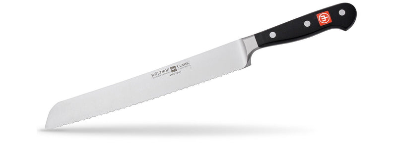 Wusthof Classic - Double Serrated Bread Knife 9""