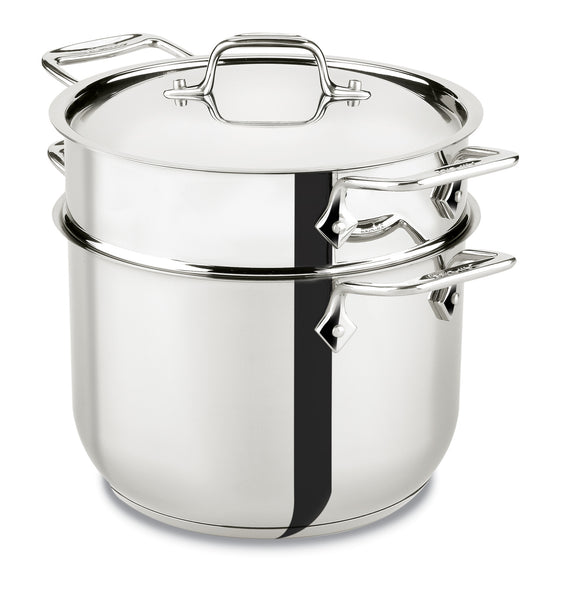 All-Clad 6 Qt. Pasta Pot Stainless Collection
