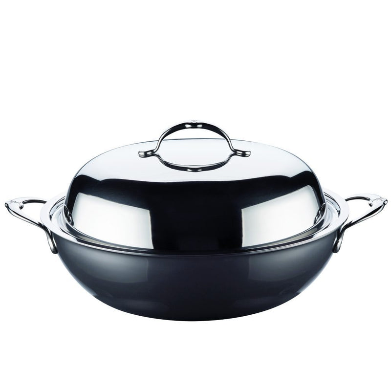 "HESTAN NANOBOND TITANIUM - 14"" / 34 cm Covered Wok"