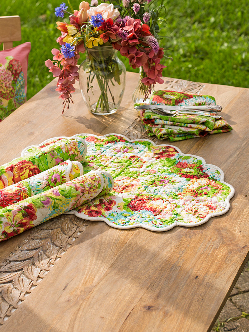 April Cornell - Spring Gathering Quilted Placemat Set of 4