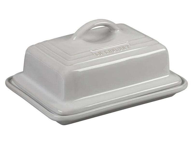 Le Creuset - Heritage Butter Dish - White