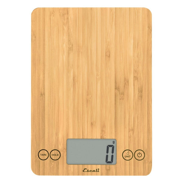Escali - Arti Bamboo Kitchen Scale