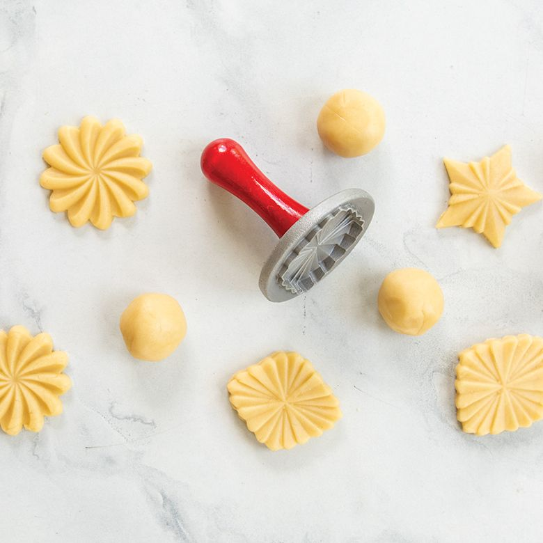 Nordic Ware - Pretty Pleated Cookie Stamps