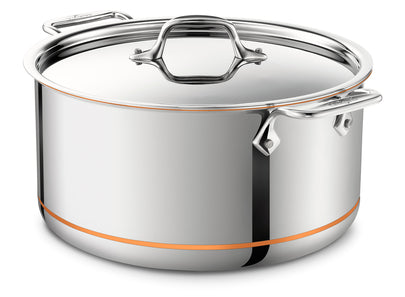 All Clad - Copper Core - Stockpot 8 Qt.