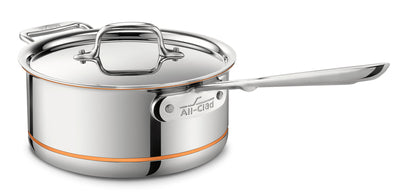 All Clad - Copper Core - Sauce Pan w/Lid & Loop