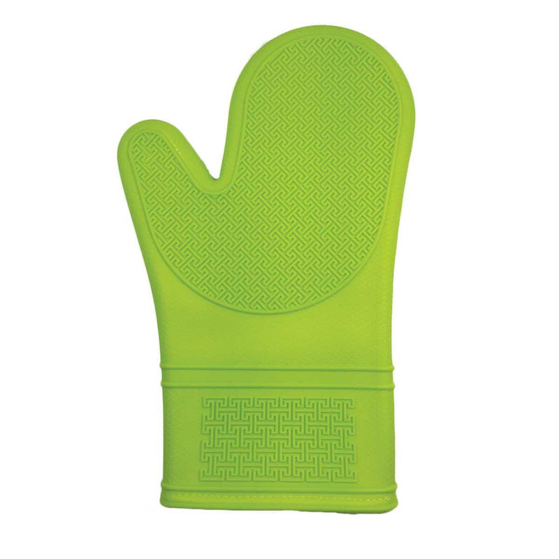 Port Style -  Silicone Oven Mitt Lime Green