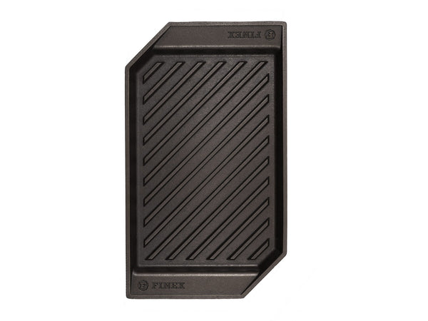 "Finex - 15"" Cast Iron Lean Grill Pan"