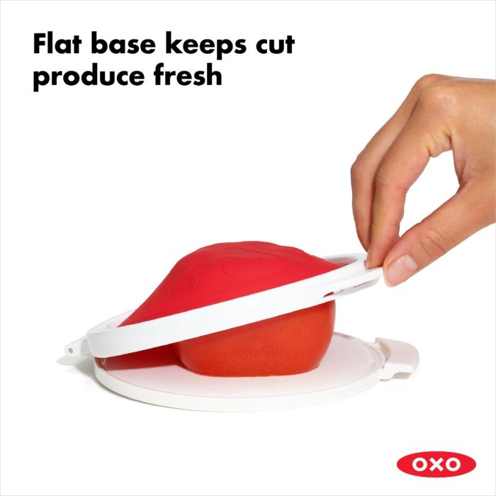 Oxo - Cut & Keep Silicone Tomato Saver
