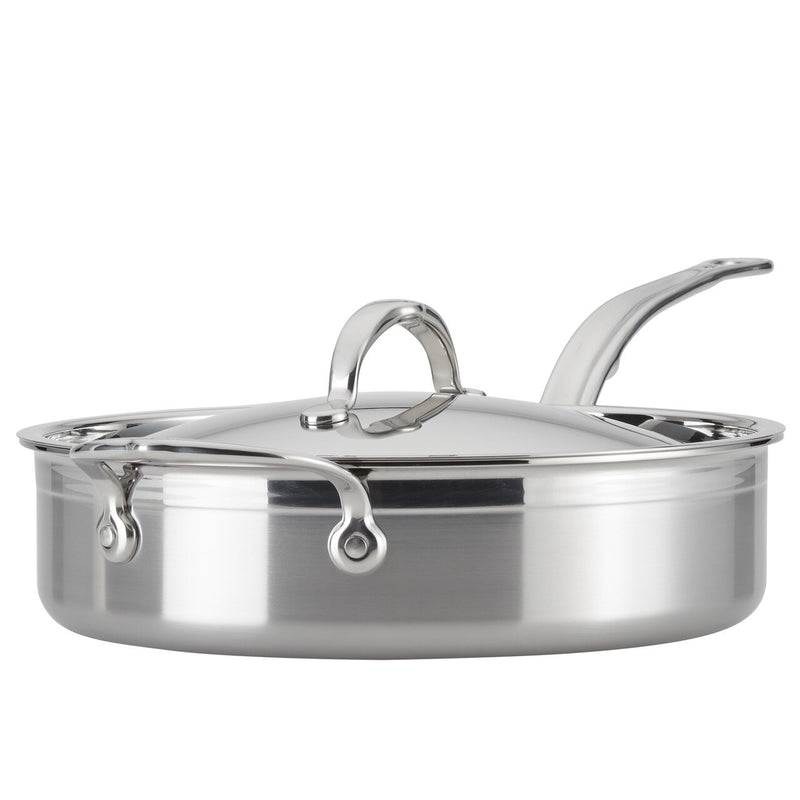 Hestan ProBond Forged Stainless Steel - 3.5 Qt Covered Saute