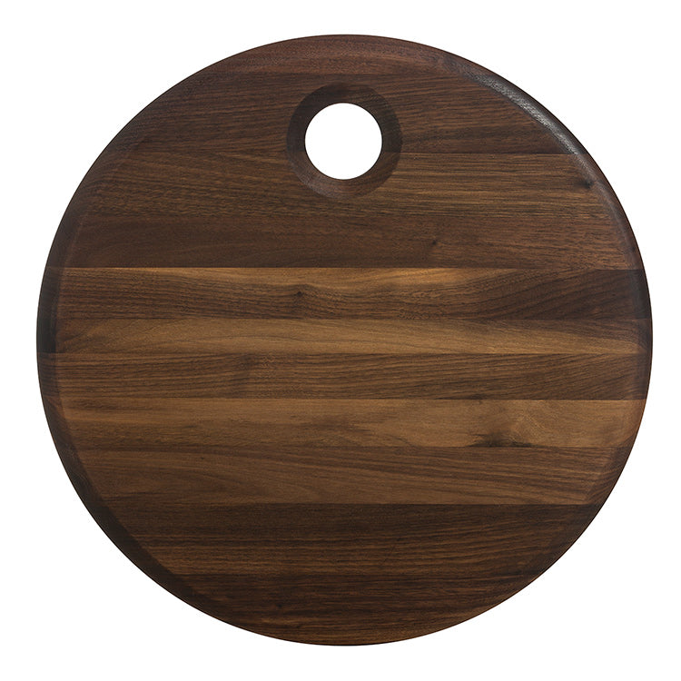 JK. Adams - Walnut Round Serving Board 16""