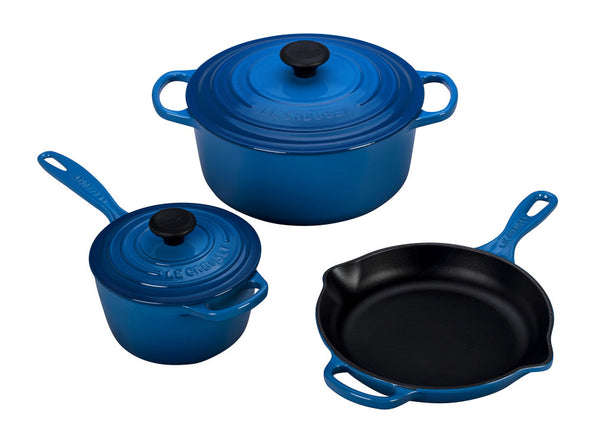 Le Creuset - 5-Piece Signature Set - Marseille