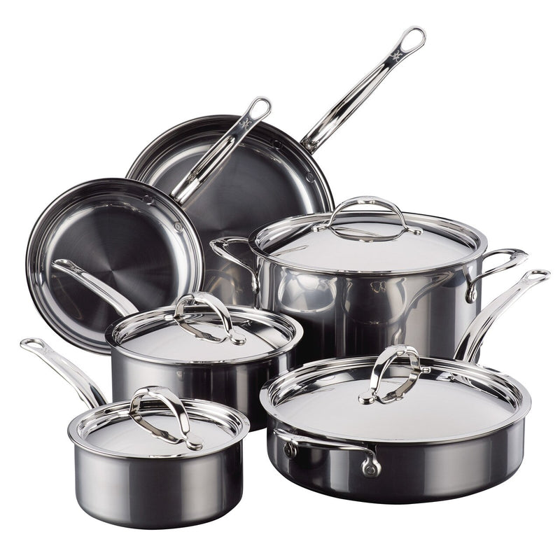 HESTAN NANOBOND TITANIUM - Ultimate 10 - Piece Set