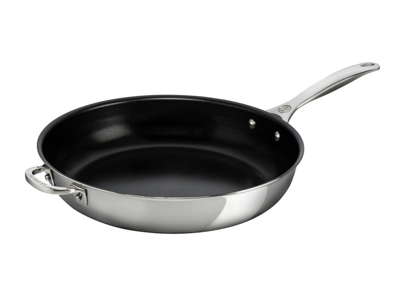 Le Creuset - Stainless Steel Nonstick Deep Fry Pan 12.5""