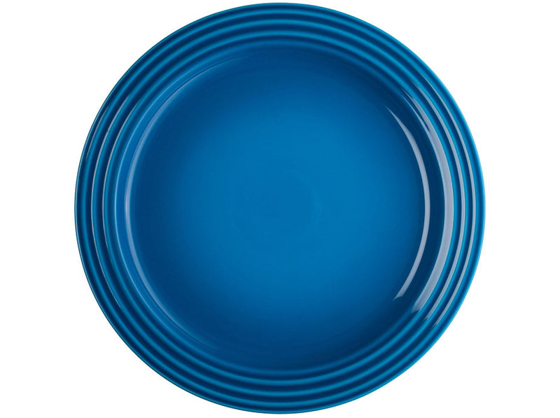 "Le Creuset - Set of (4) 10.5"" Dinner Plates - Marseille"