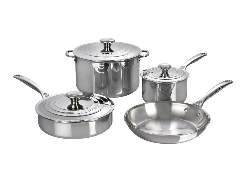 Le Creuset - 7-Piece Stainless Steel Set