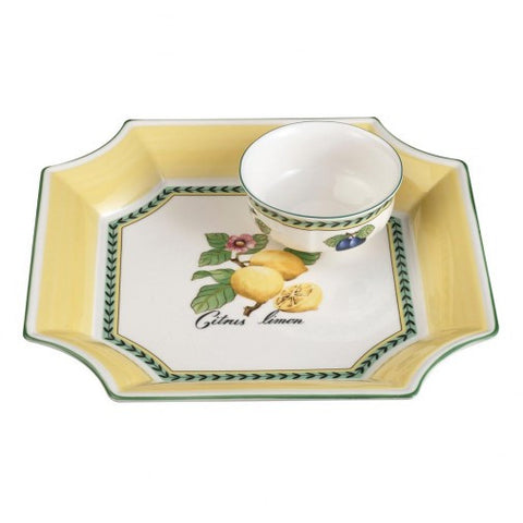 Villeroy U0026 Boch French Garden Fleurence 2 Piece Chip U0026 Dip Set