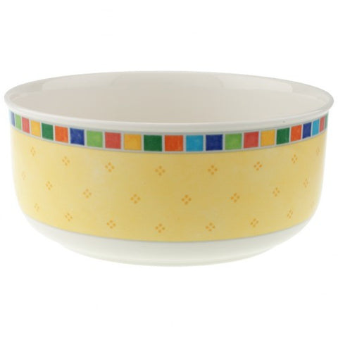 Villeroy & Boch Twist Alea Limone 7 3/4 Round Vegetable Bowl