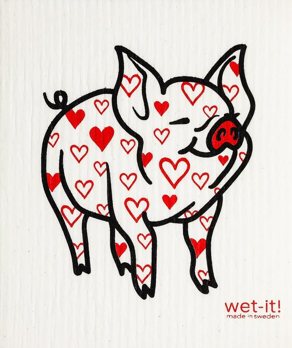 Wet-it - Lovely Pig (Swedish Cloth)