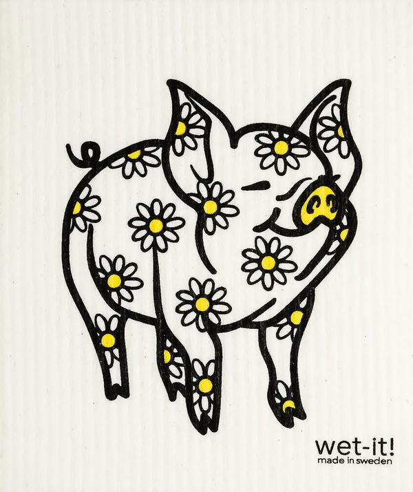 Wet-it - Daisy Pig (Swedish Cloth)