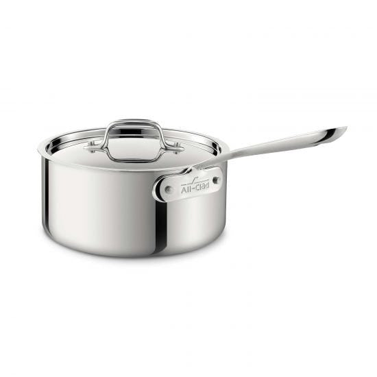 All Clad d3 - Sauce Pan Stainless
