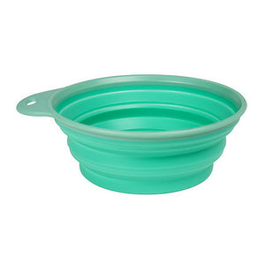 Collapsible Pet Bowl - Green