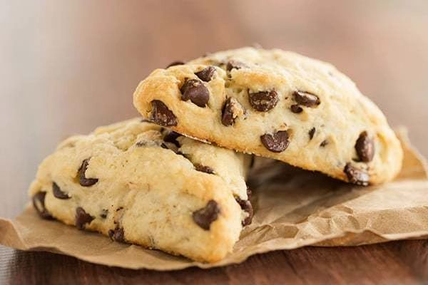 Baobab Chocolate Chip Scones