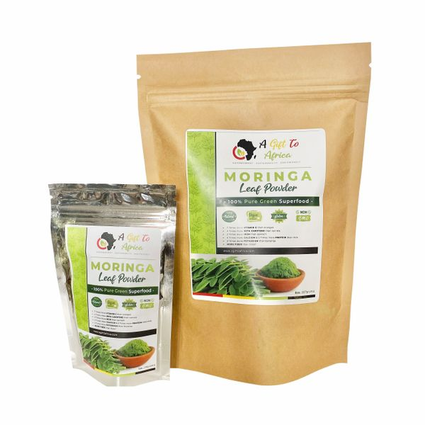 All Natural Moringa Leaf Powder