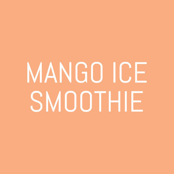 Mango Ice Smoothie