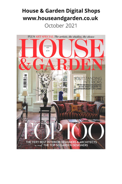 house and garden magazine nov issue cover