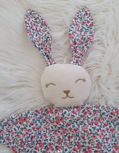 Load image into Gallery viewer, Baby Comforter (LIBERTY flat bunny)