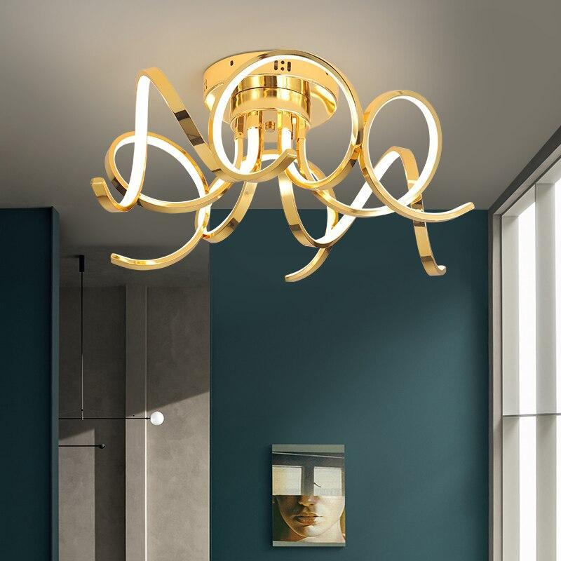 Chrome/Gold Plated Modern Home Ceiling Lamp Lighting Fixtures